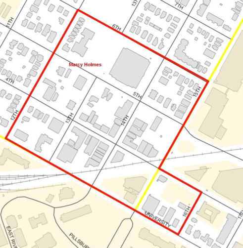 Dinkytown Apartments: Community Development