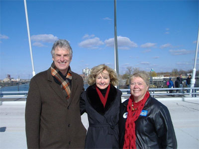 New Lowry Ave Bridge Opening with Peter McLaughlin & Linda Higgins