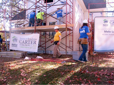 Jimmy Carter Habitat for Humanity Minneapolis