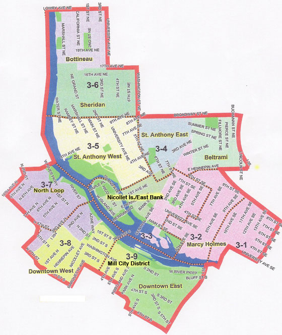 Third Ward Map